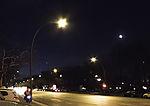 Morgensterne über Hamburg