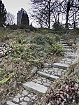 Treppe in Planten un Blomen in Hamburg