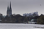 Winter an der Alster