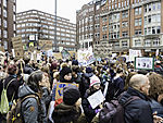 demonstration Fridays for Future in Hamburg