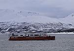 gasbetriebener Frachter Kvitnos