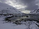 Winter im Ersfjorden