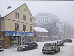 snow drift in Tromso