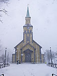 Schneetreiben in Tromsö