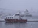 winter in Tromso harbour