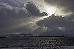 Sonnenstrahlen über Kvalöya