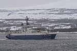 research vessel Atlantic Guardian off Tromso
