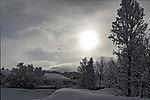 winter sun in Tromso