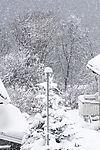snowfall in Tromso
