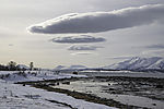 clouds over Malangen mountains