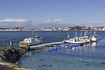 boat harbour on island Sommaröy