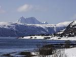 mount Keipen on island Senja