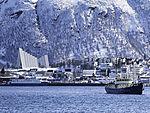 Expeditionsschiff Malmö in Tromsö