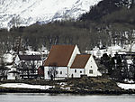 Mittelalterkirche Trondenes bei Harstad