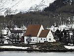 medieval church Trondenes near Harstad