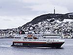 coastal express Spitsbergen in Harstad