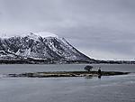 kleine Insel im Risöysundet
