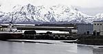 Abwassereinleitung von Fischfabrik