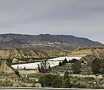 greenhouses of plastics in Sierra Nevada