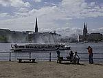 lake Alster in Hamburg