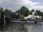 sightseeing boat St. Georg befor Lombards bridge