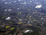 agriculture in Lower Saxony from the air