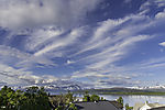 feather clouds near Tromso