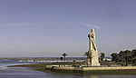 monument to Christopher Columbus in Huelva