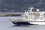 cruiseship Bremen near Tromso