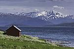 mount Hamperokken in northern Norway