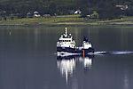 Versorgungsschiff Storm für Lachszucht