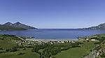 Grötfjord in bay of Tromvika