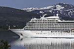 cruiseship Viking Jupiter near Tromso