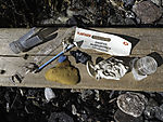 Plastikfunde am Strand von Tromsö