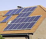 Solarenergie auf Wohnhaus