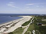 island Helgoland beach