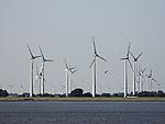 Windpark uan der Unterelbe