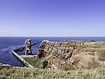 rock Long Anna on island Helgoland