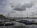Segelboothafen an der Außenalster