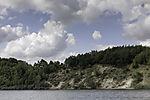 nature protection Dummersdorfer Ufer at river Trave