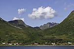 summer clouds over Finndalen