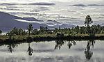 reflection on small pond on island Haaköya
