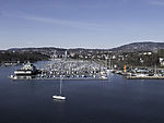 boat harbour in Oslo