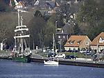 sailing ships in Kiel