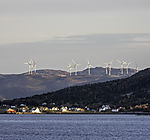 Windpark in der Westküste Norwegens