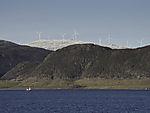 Windpark Kvitfjell auf Kvalöya
