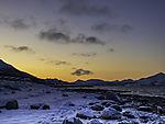 dawn in Tromso
