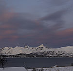 arctic morning near Tromso