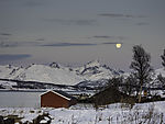 winter landscape in northern Norway