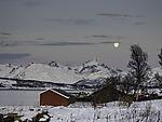 winter landscape in northern Norway